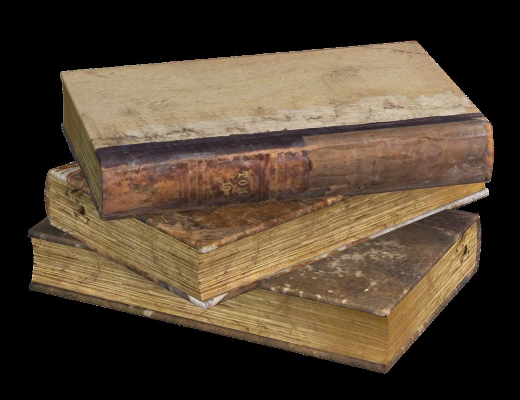 En bog med gammelt udsene